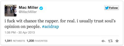 Mac Miller Tweet